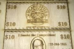 Laser-engraved-wooden-promotional item, Laser Mafia, Vero-Beach
