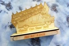 Laser-engraved-wooden-award-Laser Mafia, Vero-Beach